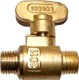 Tap Strong brass ball valve Male To Male both with quarter inch threads