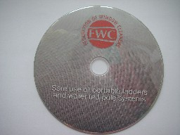 DVD, Logo Equipment, Stickers  & Cleaning Industry Books
