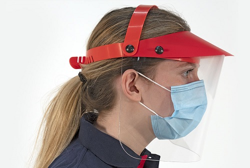 Face Shield reusable protective complete 180 degree vision