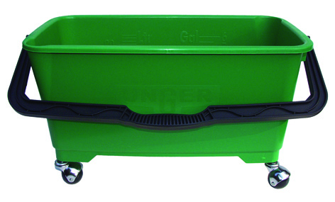"Bucket 19"" Unger Green Oblong"