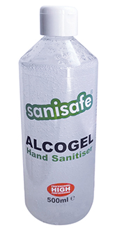 Sanisafe Alcogel Hand Sanitiser 500 ml Bottles